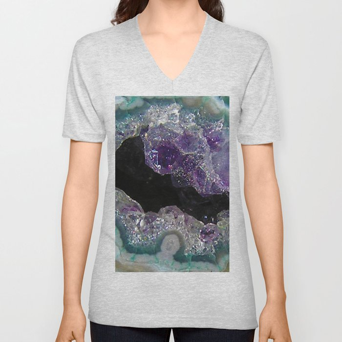 Crystal Cavern Unisex V-Neck