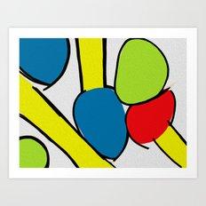 Colors V4 Art Print
