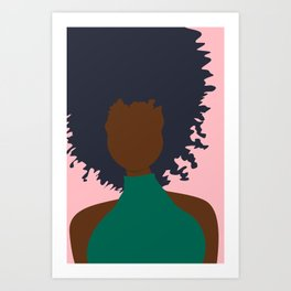 Thoughts of Pink Art Print