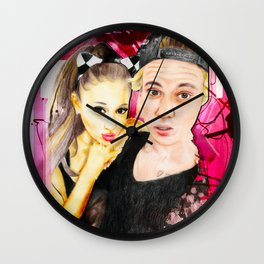 ARIANA JUSTIN Wall Clock