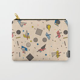 Memphis Inspired Pattern 9 Carry-All Pouch