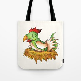 Chicken Rex Tote Bag