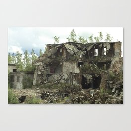 Nature Is Stronger Canvas Print