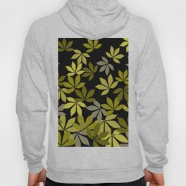 chestnut leaves pattern graphic Design #society6  Hoody