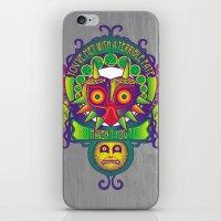majora iPhone & iPod Skins featuring Majora Nouveau by Mareve Design