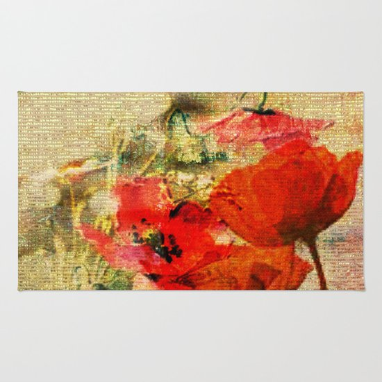 Poppies 2 Rug