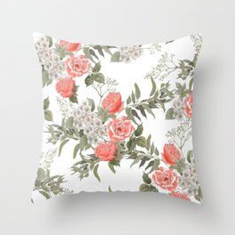 The Master Gardener #PorcelainWhite Throw Pillow
