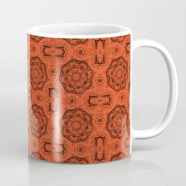 Flame Doily Floral Coffee Mug
