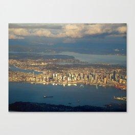Seattle #1 Canvas Print