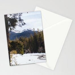 Mount Rainier National Park, I Stationery Cards