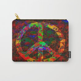 PEACE SKULLS Carry-All Pouch