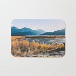 Alaskan Autumn - Kenai Fjords National Park Bath Mat