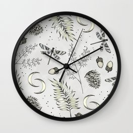 Autumn Dreams Wall Clock