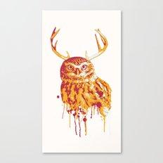 Owlope Stripped Canvas Print