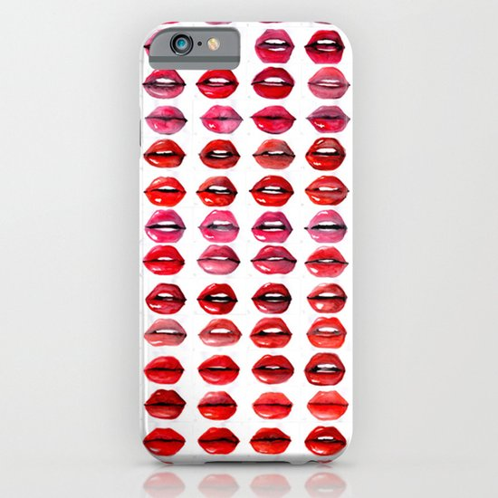 Lips Quote iPhone & iPod Case