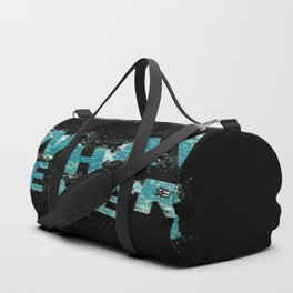 Teal Blue Whatever Duffle Bag
