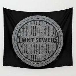 TMNT SEWERS Wall Tapestry