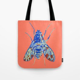 Tiger Bee Fly 2 Tote Bag