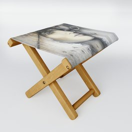 Waiting in the Wings Folding Stool