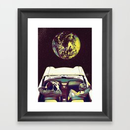 Mas Alla Framed Art Print