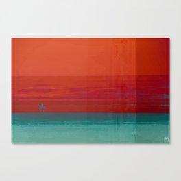 The Surf - Sundowner Canvas Print