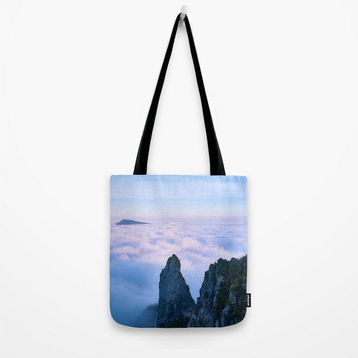 Nature's Cotton Candy Tote Bag