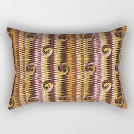 Marbling Curl - Be Bold Rectangular Pillow