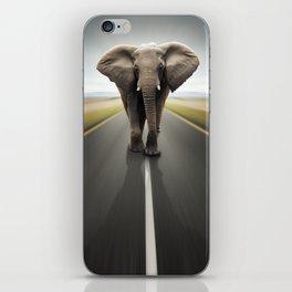 Elephant Trucker iPhone Skin