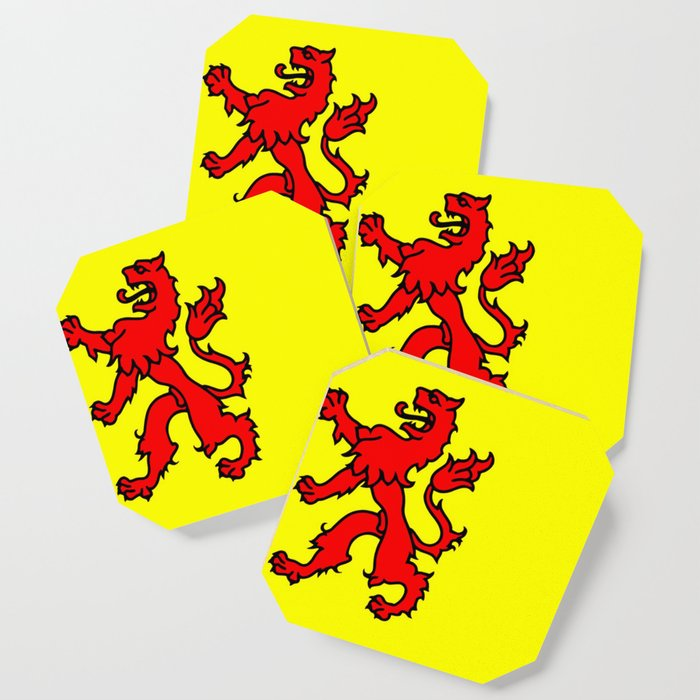 Flag of South Holland Coaster