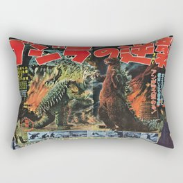 Godzilla Rectangular Pillow