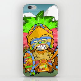 Tenochtitlan - Azteca Moderno  iPhone Skin