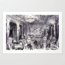 The French Laundry Art Print