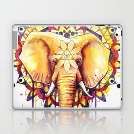 Elephant Mandala Laptop & iPad Skin
