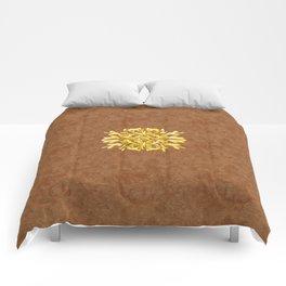 """""""Marron Doré"""" Comforters"""