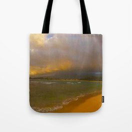 Playing Tag With the Hawaii Tide Tote Bag