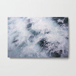 OCEAN X WASH Metal Print