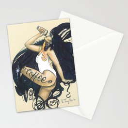 Ode to Coffee Stationery Cards