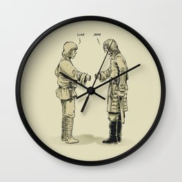 Pleased To Meet You Wall Clock