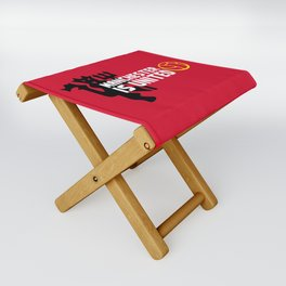 Manchester Is United Folding Stool