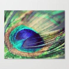 Peacock Eye Canvas Print