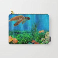 UnderSea with Turtle Carry-All Pouch