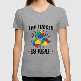 Colorful Juggling, Juggle Design T-shirt