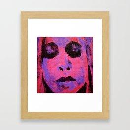 Signe Framed Art Print