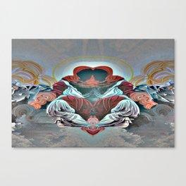 2corrupted creators Canvas Print