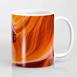 SCULPTURE OF NATURE ANTELOPE CANYON ARIZONA PHOTOGRAPHY Coffee Mug