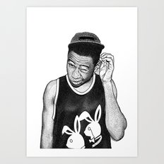 Tyler the Creator Art Print