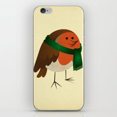 The Robin's new scarf iPhone & iPod Skin