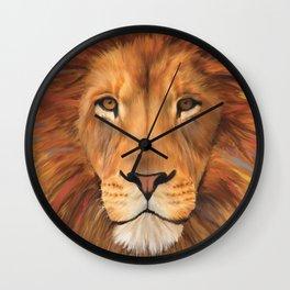 Lion Digital Painting Wall Clock