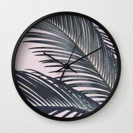 Sago Palm Wall Clock