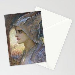 William Blake Richmond - St Joan Of Arc Stationery Cards